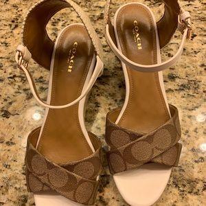 Coach Shoes - Authentic Coach Espadrilles, size 9